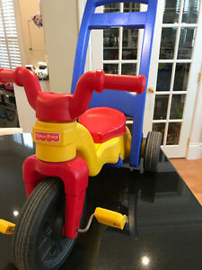 FISHER PRICE ROCK, ROLL AND RIDE TRIKE