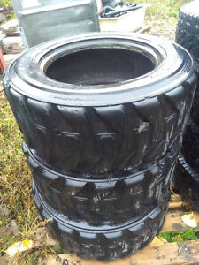 10x16.5 bobcat brand skiid steer tires 3 plus newer chinese one.