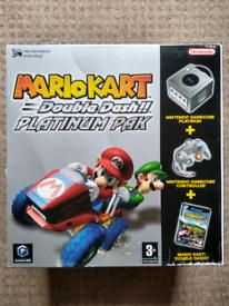 Nintendo Gamecube Mario Kart:Double Dash!! Platinum Pak