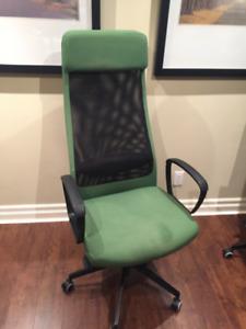 Ikea Markus Chair ~ some wear