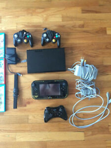 Console Wii U Wind Waker Edition avec gamepad + jeux/extras
