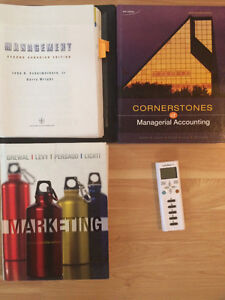 CHEAP Ryerson Business textbooks. Prices in description