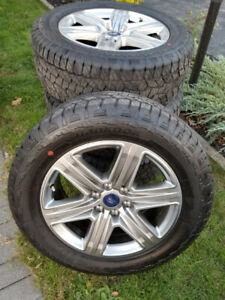 "L@@K! New 2019 20"" Ford F-150 Lariat factory wheels/tpms & Tires"