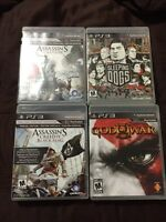 Ps3 games in excellent like new condition