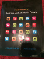Fundamentals of Business Mathematics in Canada