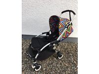 Bugaboo Bee + with limited edition Missoni hood plus bundle