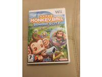 Super monkey ball bana blitz Wii game