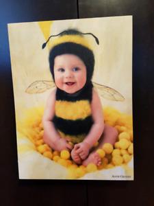 Anne Geddes baby canvas photos