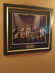 The Tragically-Hip 16X 20 Framed Band Photo