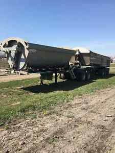 2014 Centerline Super B Gravel Trailers Side and EndDump Moose Jaw Regina Area image 1