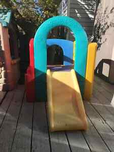 Colourful Slide and Climber