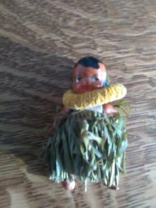 Bisque Hawaiian Doll