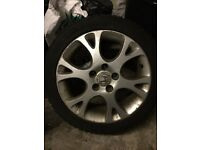 "Honda Accord Civic FRV 17"" Alloy Wheel With good Tyre Spare"