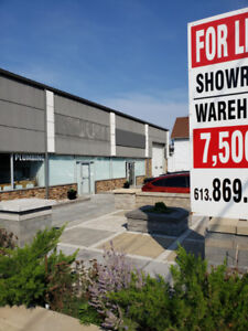 Showroom/Warehouse for lease