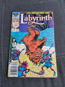 Labyrinth #2 (1986, Marvel Comics)