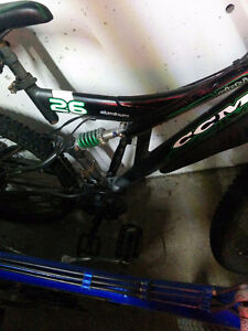 2 ccm 24 speed bikes​with full shocks