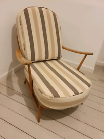 Ercol blue label 203 easy chair