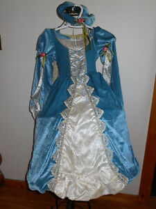 Girls Medieval Costume size 5-6 years