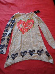 Desigual shirt, new with tags, for 13-14 yo, cotton