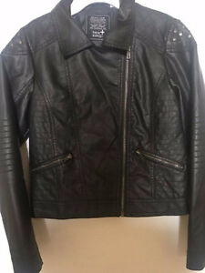 Girls Faux Leather Jacket size 12