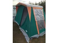 Porch awning and sunncamp tent with inner tent