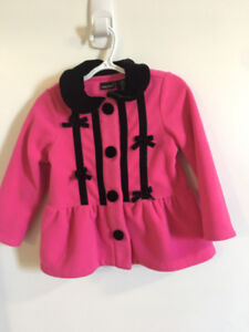 Toddler Girls Coat / Jacket- 2T