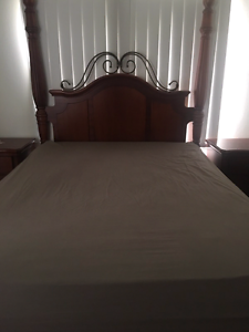 Queen size timber bedroom suite Mount Lewis Bankstown Area Preview