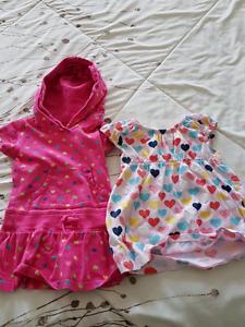 2 summer dress toddler girl 18 months