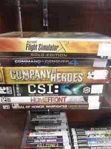 Assorted PC Computer Games