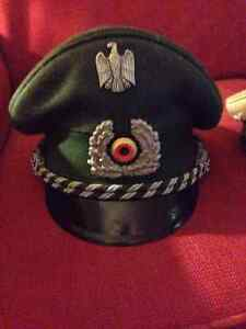 Antique German Military BGS Meister Hat & Traffic Police Hat London Ontario image 1