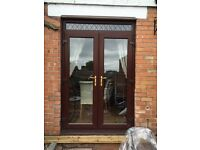 Pvc french doors & windows