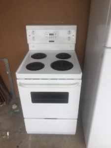 Frigidaire white 24 inch coil stove for sale