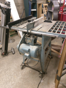 Heavy Duty Table Saw and side stand