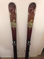 Skis, bindings and boots