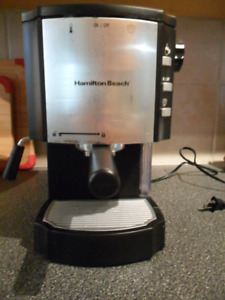 Hamilton Beach Cappuccino Maker