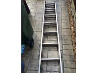 Aluminium ladders clima 6.3mtr
