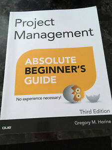 Project Managment Absolute Beginners Guide 3rd Edition