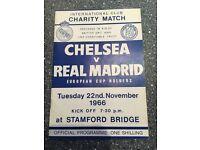 Chelsea v Real Madrid 1966