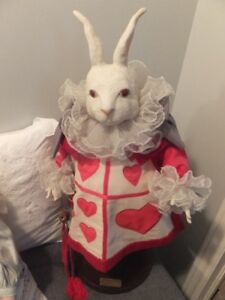 FROM ALICE IN WONDERLAND IS THE (WHITE RABBIT DOLL)