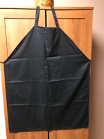 Black Bib and Waist Aprons