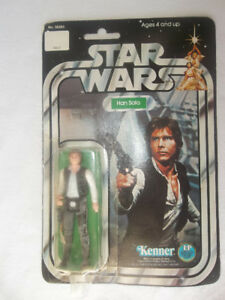 Vintage Star Wars 12 Back and 21 Back Figures MOC FS - Luke Han