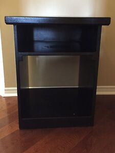Two (2) matching bedside tables
