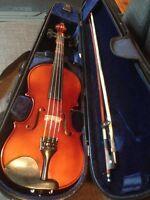 Excellent violin for kids 1/2 size for kids from 6 to 10 years o