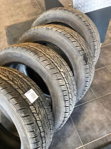 FOR SALE -  4 SUMMER TIRES CONTINENTAL 245/55 R 19 103 S
