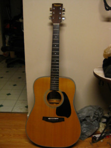 IBANEZ PF 10 GUITAR  with case