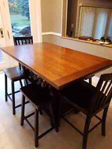 Dining room table w/ extra storage