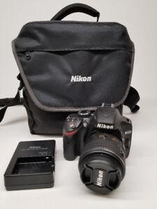Camera Photo Nikon D3200 avec lentille 18-55mm VR2