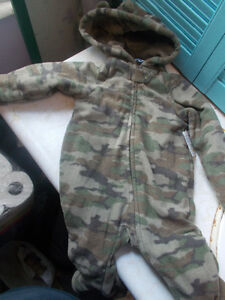 Baby Infant Fleece Lined One Piece Snowsuit, Size 3-6 Months London Ontario image 1