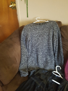 Assorted tops and sweater