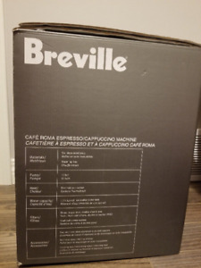 Gently Used Breville Cafe Roma Espresso Machine